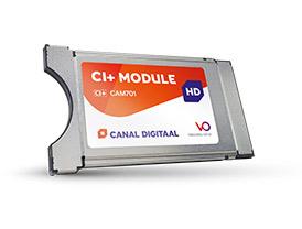 CanalDigitaal Cam 701 CI+ module inclusief kaart